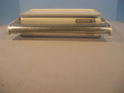 Vintage Exakta Scale German White 10 Kg Capacity