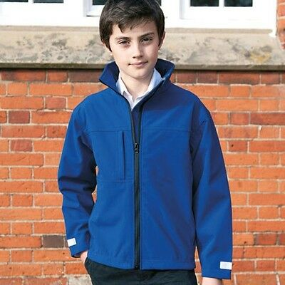 Result R121J Junior Kids Childrens Classic Softshell 3 Layer Jacket Winters Wear