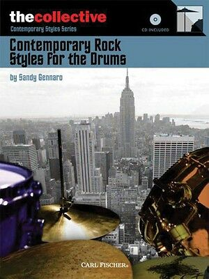 Contemporary Rock Styles for the Drums - Drum Music Book with CD