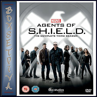 Marvels Agents Of Shield - Complete Season 3 * Brand New Dvd***