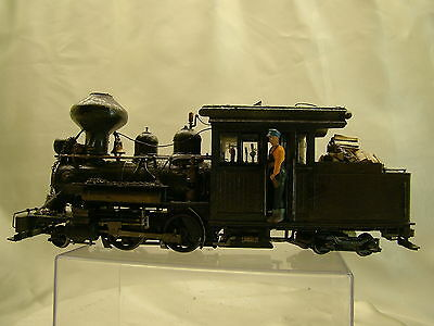 Forney DCC Logging Engine - custom weathered - cool look -  Ho  On30 scale 2-4-4