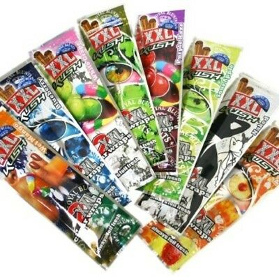 1 Pack of 2 BLUNT WRAP - ROYAL BLUNT XXL - CHOOSE YOUR FLAVOURS - ROLLING PAPER