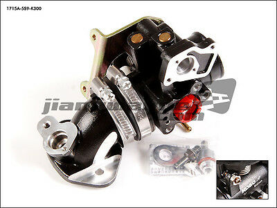 YAMAHA BWS ZUMA X-Over YW125 - KOSO Intake Manifold + 30/34mm FI Throttle Body