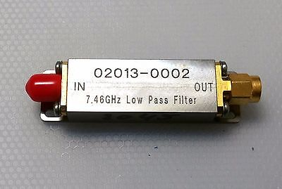 Picosecond Pulse Labs 7.46Ghz Low Pass Filter DC Block