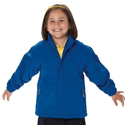Jerzees Schoolgear J875B Kids Reversible School Jacket Boys Girls Winters Coats