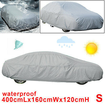 Universal Car Cover UV Protection Breathable Waterproof Small Size S