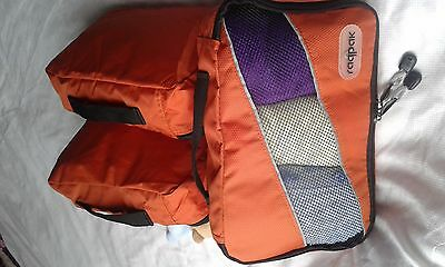 Strong Lightweight Packing Cubes Organizers for Suitcases and Bags 3 Pcs Med