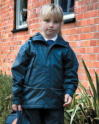 Result R155JY Junior Youth Waterproof 2000 Pro-Coach Jacket Kids Winters Coat