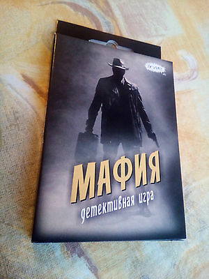 Mafia Russian мафия игра detective verbal fun game 18 role playing cards party