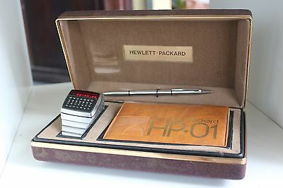 ♕♕♕ HP-01 CALCULATOR Watch HP 01 HP01 HP1 - VERY GOOD COND. BOXED♕♕♕