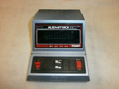 Vintage Tomy Alien Attack Electronic Game  Working