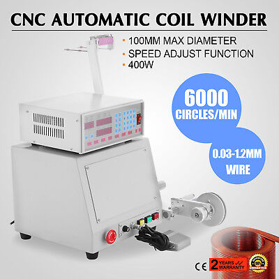 400W New Cnc Automatic Coil Winding Machine Micro-Computer Controlled Winder Up