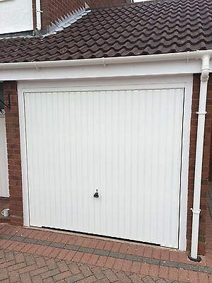 Fully Fitted Hormann Garador Vertical Garage Door Up And Over Lift Up Canopy