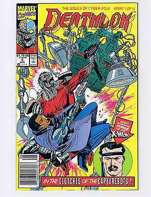 Deathlok #2 aug 1991 - NM (Unread copy)