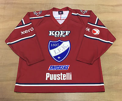 HIFK - Size L - Finnish / Finland Official Ice Hockey Jersey