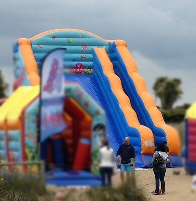 Inflatable Slide bouncy castle
