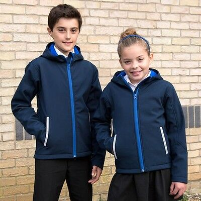 Result Core R224J Junior TX Performance Softshell Hood Jacket Kids Fashion Coats
