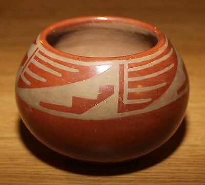 Donicia Tafoy - San Ildefonso Pueblo Brown Pottery Bowl