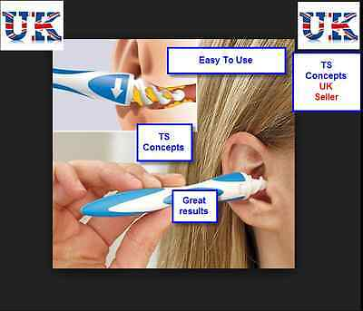 Smart Easy Earwax Removal Soft Spiral Ear Cleaner Safe Tool