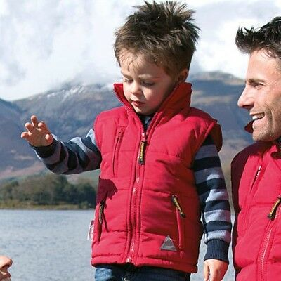 Result RE88J Junior Ultra Padded Bodywarmer Kids Winters Wear Warm Jackets