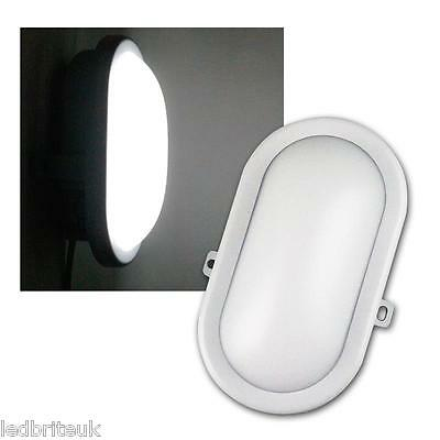 LED Bulkhead Wall Light IP65 5 Watt Compact Utility Outdoor