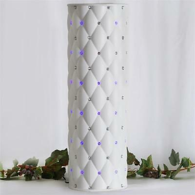 "4 pcs WHITE 30"" tall Wedding Roman Empire Columns with LED Lights Decorations"