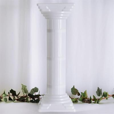 "4 pcs WHITE 32"" tall Wedding Roman Empire Columns Party Decorations"