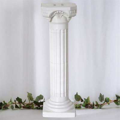 "4 pcs WHITE 36"" tall Wedding Roman Empire Columns Party Decorations"