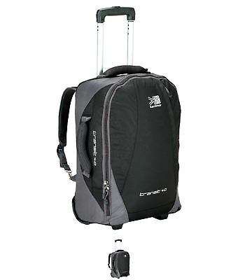 OCCASIONE Karrimor Transit Wheel Suitcase Black