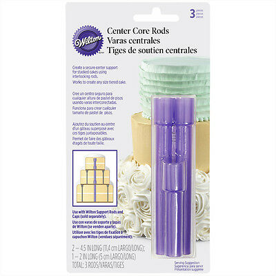 Wilton Stacked Cake Center Core Rods