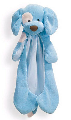 Dog Huggybuddy Baby Blanket – Blue