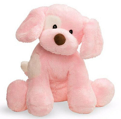 Sensory Barking Dog Baby Toy – Pink
