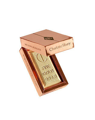 NEW Charlotte Tilbury BAR OF GOLD The BEST-SELLING illuminating highlighter