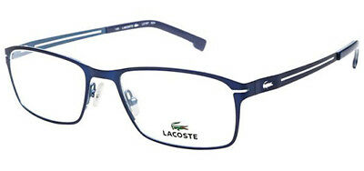 Lacoste Optical Authentic Men's Eyeglasses Frames L2167 424 Satin Blue