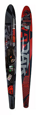 2013 Radar P-6 Slalom Waterski 65 w/ Prime Front Boot Size 7-11 and ARTP - CHIPS