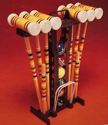 NEW Vintage Franklin Competition 6 Player Croquet Set GREAT GIFT!