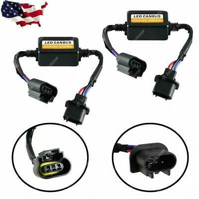 H13 9008 LED Headlight Canbus Decoder Adapter Anti-Flicker Flash Error Canceler