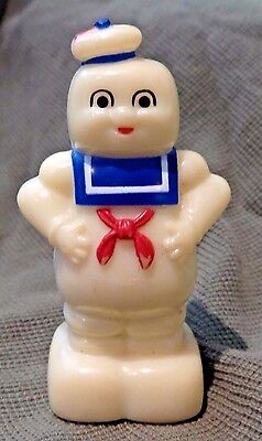 """Vintage 1984 """"ghostbusters"""" Stay Puft Marshmallow Man Pencil Sharpener"""