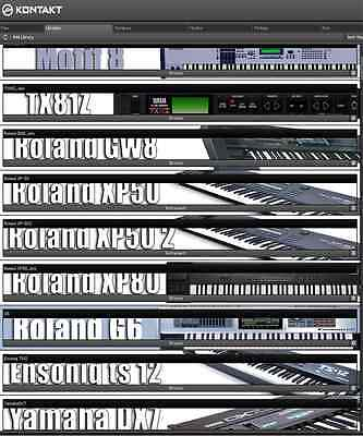 Kontak Soundbanks Yamaha DX 7
