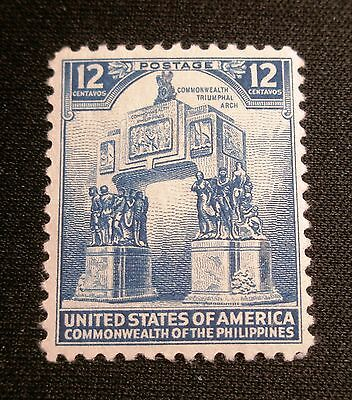 (F422) US Philippines Commonwealth Triumphal Arch 12c MNH