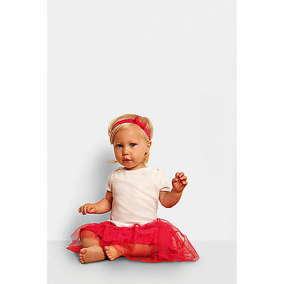 Canvas Bella Baby Rib Short Sleeve T Shirt Cotton Crew Neck Comfort Kids Clothes