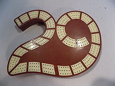 Plastic 29 Style Cribbage Board with Storage in Back