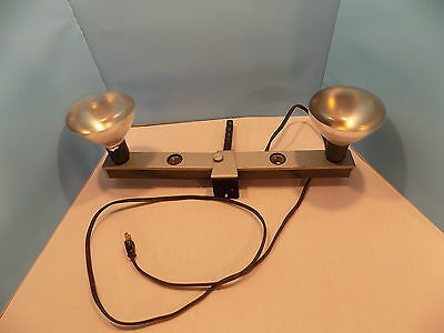 Vintage Chicago Kitchenware 4 Light Bar Movie Photography Fixture