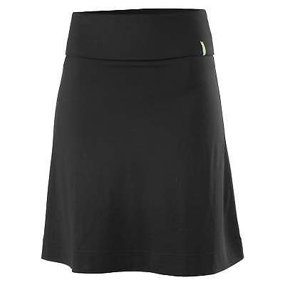 Kathmandu Gallium Womens Merino Wool Washable ALine Casual Travel Skirt v2 Black