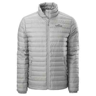 Kathmandu Heli Mens Lightweight Duck Down Coat Warm Puffer Jacket v2 Grey
