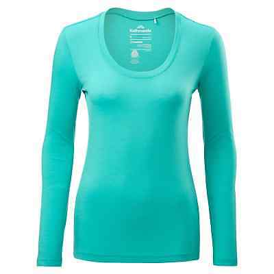 Kathmandu Divide Womens Merino Long Sleeve Regular Fit Thermal Top Blue