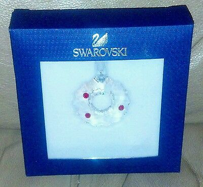 Swarovski Christmas Cookie Crystal Ornament New In Box From Austria Retired