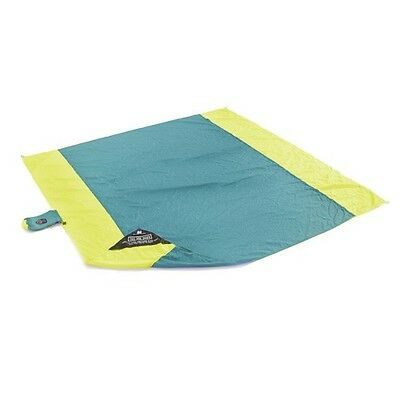 Grand Trunk Parasheet Double Beach Blanket Teal/Yellow BB-03