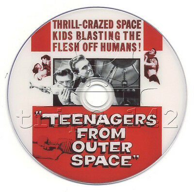 Teenagers from Outer Space (1959) Horror, Sci-Fi Movie on DVD