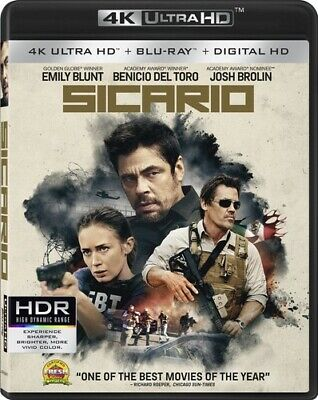 Sicario (2016, Blu-ray NEW)2 DISC SET
